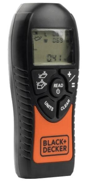 Black+Decker BDMU040-FR Ultraschall-Entfernungsmesser ab 16,99€ (statt 28€)