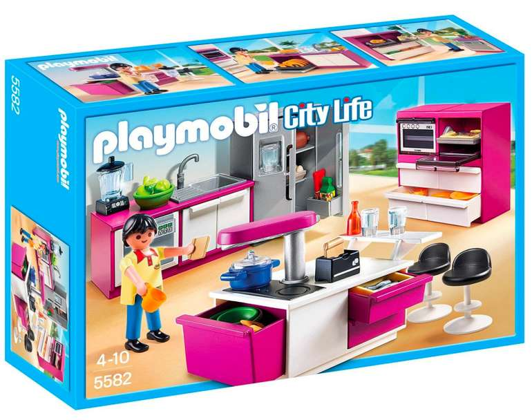 Playmobil City Life - Designerküche (5582) für 11,24€ inkl. Versand (statt 21€)