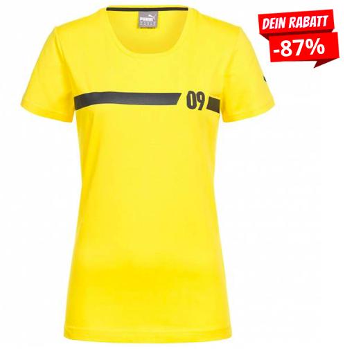 BVB 09 Borussia Dortmund Puma Damen Fan T-Shirt für 7,28€ (statt 13€)