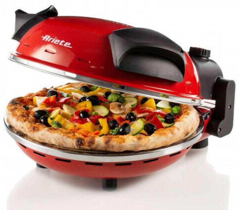 Ariete 909 Pizzaofen aus feuerfestem Stein für 74,99€inkl. Versand (statt 87€)