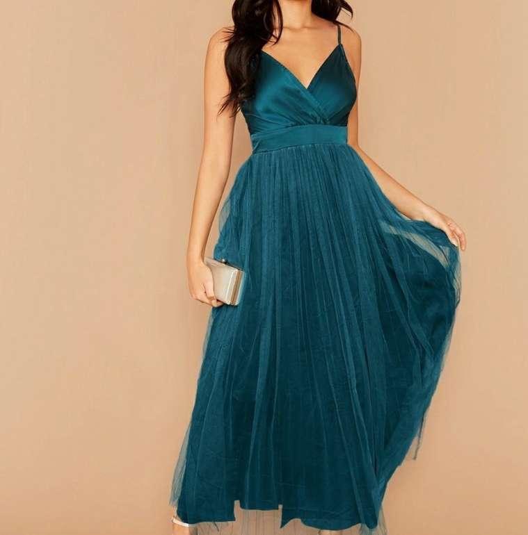 SHEIN Sale mit bis -50% Rabatt + 15% Extra on Top ab 59€ Bestellwert - z.B. Grünes Kleid für 16€