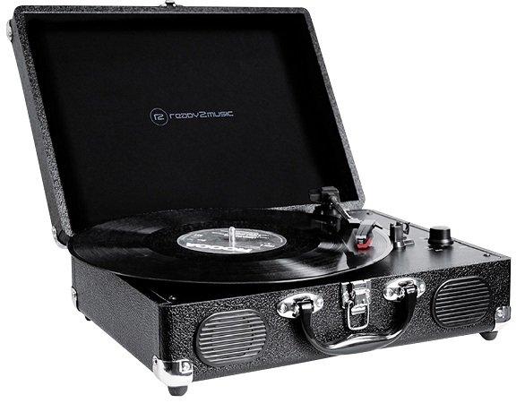 Ready2music Graceland USB-Plattenspieler mit Riemenantrieb für 27,99€ inkl. VSK