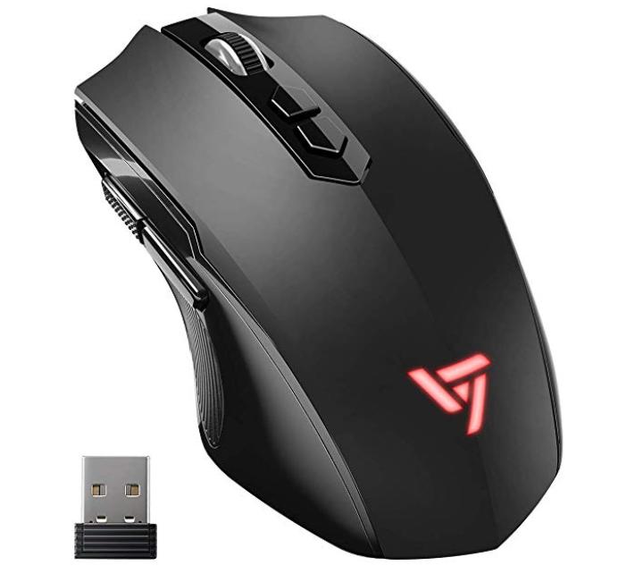 VicTsing - Kabellose Gaming Maus mit 2400dpi für 6,29€ inkl. Prime Versand