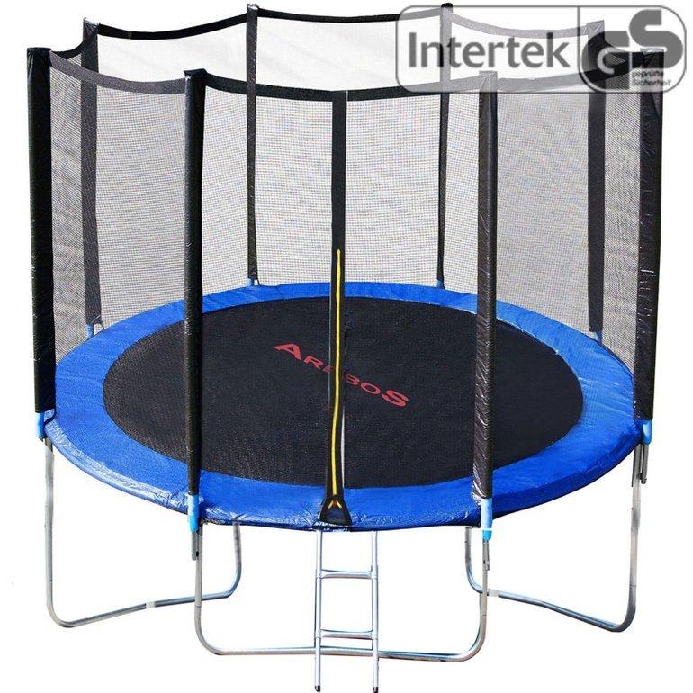 Arebos Trampolin (244cm) mit Leiter und Netz für 87,92€ inkl. Versand
