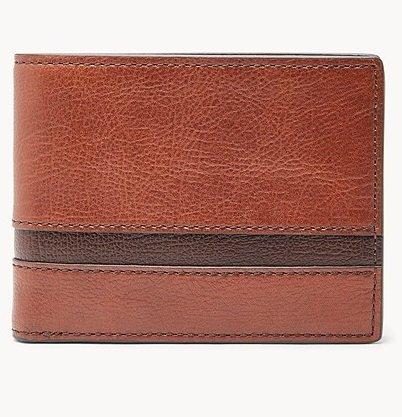 Fossil Easton Herren Geldbörse mit RFID-Schutz in zwei Farben für je 20€ (statt 72€)