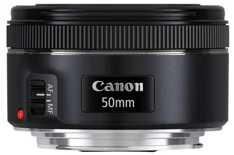 Canon EF 50 F1,8 II f/1.8 50 mm STM Objektiv für 71,24€ inkl. Versand (statt 108€)