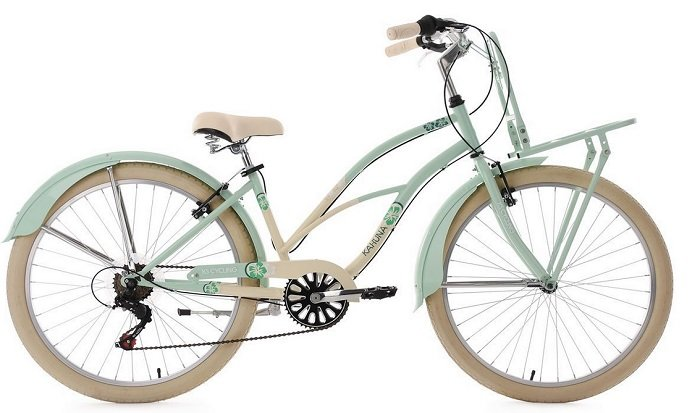 "KS Cycling Damen Beachcruiser 26 Zoll Fahrrad ""KAHUNA"" für 189,25€ inkl. VSK"