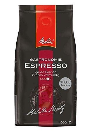 1kg Melitta Espresso - Ganze Kaffeebohnen - 100 % Arabica Paket für 7,91€