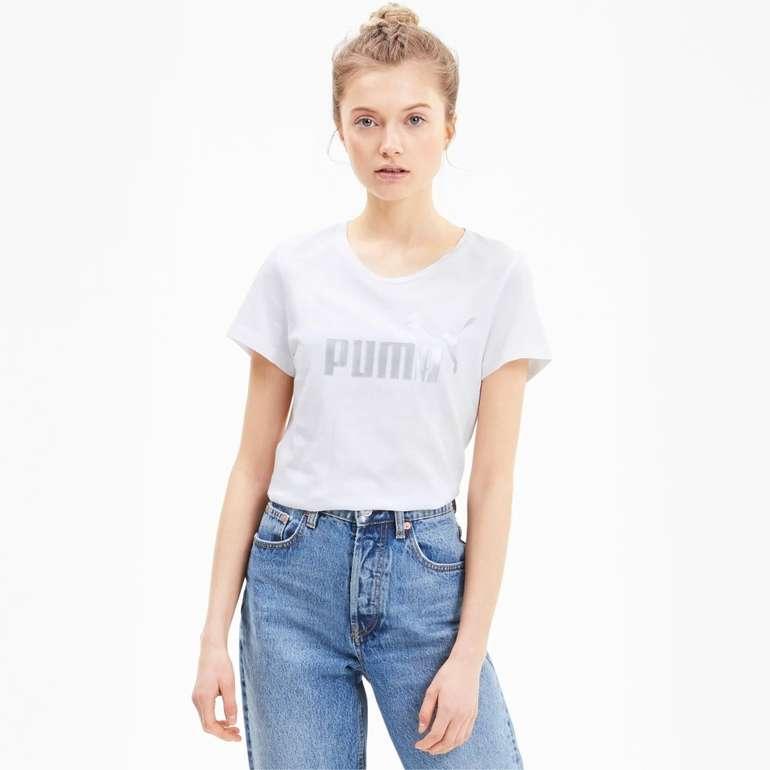 Puma Essentials+ Metallic Damen T-Shirt in 3 Farben für je 13,61€ inkl. Versand (statt 19€)