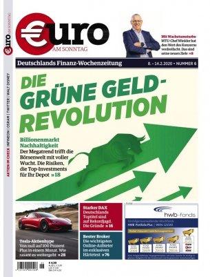 """12 Ausgaben """"Euro am Sonntag"""" Magazin für 54€ + 60€ BestChoice Gutschein"""