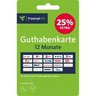 Freenet TV Guthabenkarte für 12 Monate + 3 Monate Extra für 55,20€ (statt 68€)