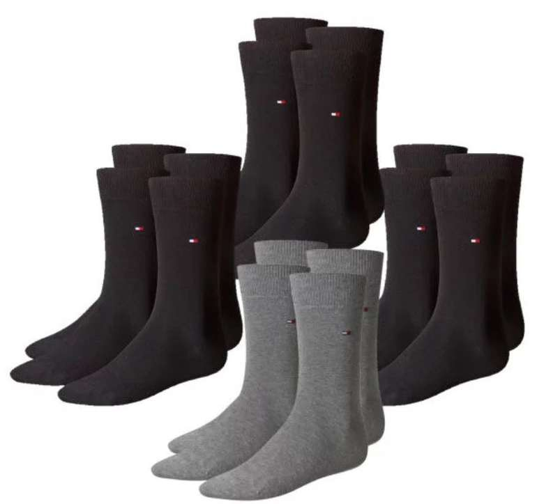 8er Pack Tommy Hilfiger Classic Business Herren Socken für 34,99€ (statt 40€)