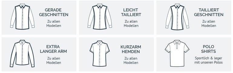 Hemden.de 3er Pack Hemden