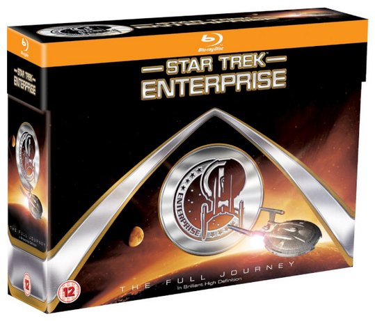 Star Trek Enterprise Box Set - Staffel 1-4 (Blu-ray) für 27,25€ inkl. Versand