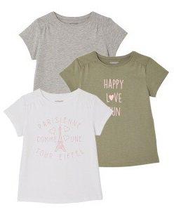 Vertbaudet Sale mit bis zu -51% Rabatt z.B. 3er Pack T-Shirt für nur 4,50€