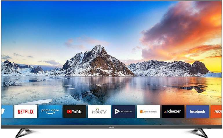 "Dyon Movie Smart 55 XT - 55"" Fernseher (4K Ultra-HD Smart TV, HD Triple Tuner) für 309,70€ inkl. Versand"