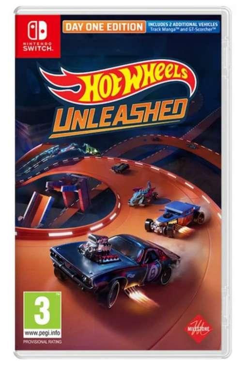 Hot Wheels Unleashed (Day One Edition) für die Nintendo Switch für 37,95€inkl. Versand (statt 41€)