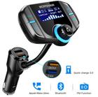 ABOX Bluetooth KFZ FM Transmitter für 15,44€ (Prime)