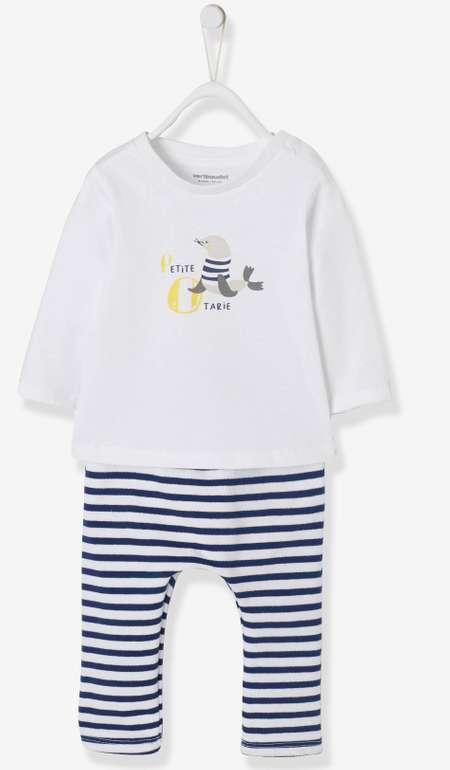 """Vertbaudet Baby T-Shirt und Hose """"Pirat"""" für 7,95€ inkl. Versand"""