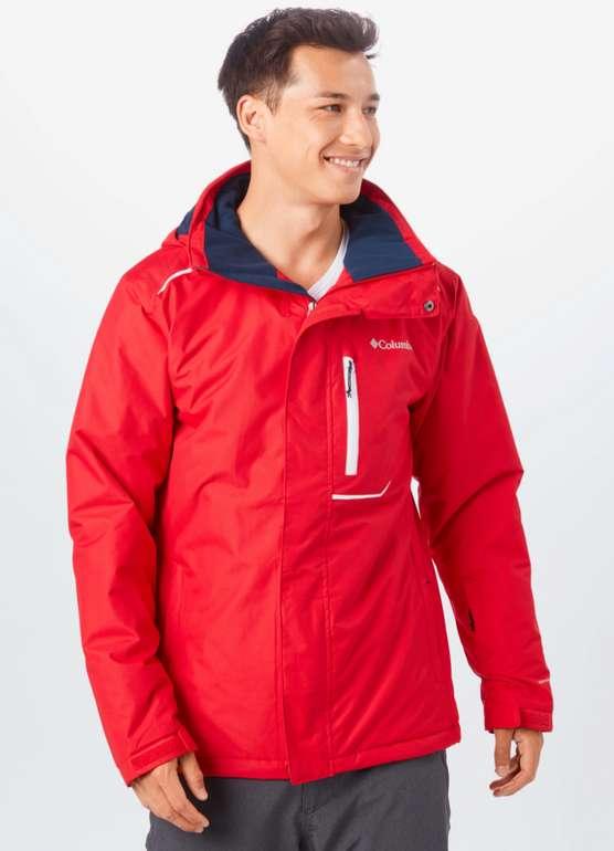 "Columbia Sportjacke ""Ride On"" in rot / weiß für 71,91€ inkl. Versand (statt 80€)"