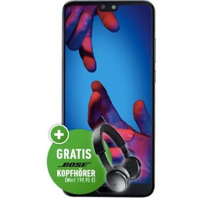 Huawei P20 + Bose Kopfhörer (149€) + Telekom Allnet mit 10GB LTE für 30€ mtl.