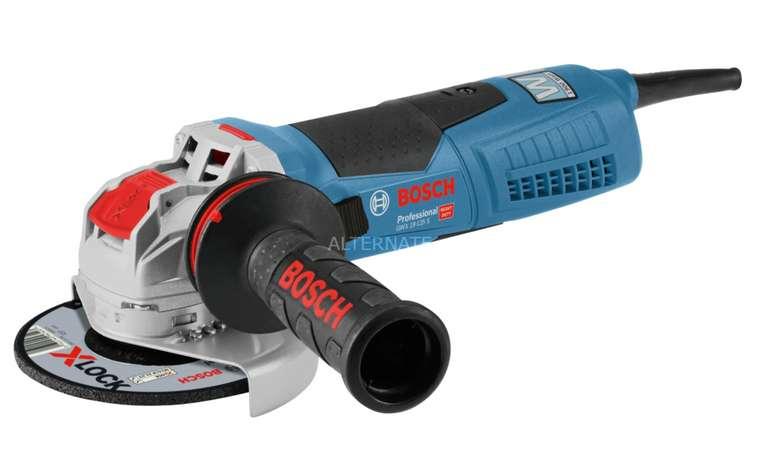 Bosch X-LOCK Winkelschleifer GWX 19-125 S Professional mit 1.900 Watt für 139€ inkl. Versand (statt 173€)