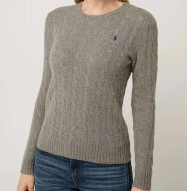 Polo Ralph Lauren Damen Pullover aus Merinowoll-Kaschmir-Mix für 135,99€ inkl. Versand (statt 151€)