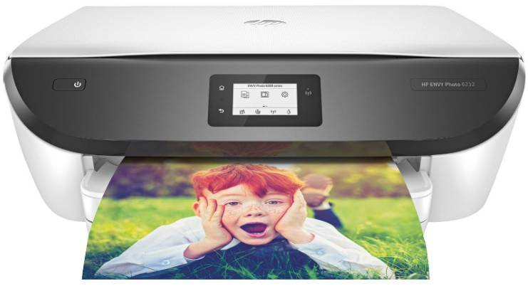 HP Envy Photo 6232 Thermal Inkjet 3-in-1 Multifunktionsdrucker mit WLAN für 59,99€