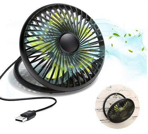 Meco Eleverde 6 Zoll 5V/3W Mini Desktop-Ventilator für 7,79€ (Prime)