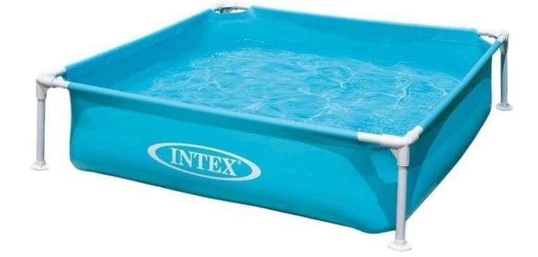 Intex Frame Pool Mini (122 x 122 x 30cm) in blau für 25,98€inkl. Versand (statt 29€)