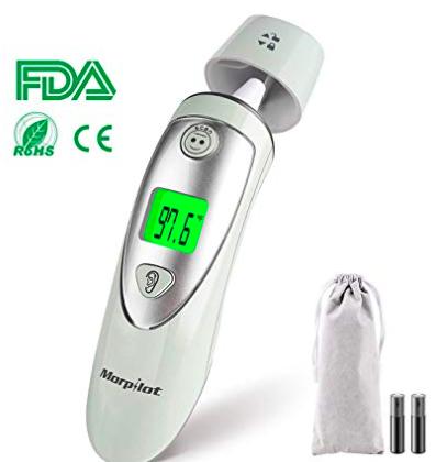 Morpilot Baby Stirn-Thermometer (CE/FDA Zertifiziert) für 12,99€ (statt 20€)