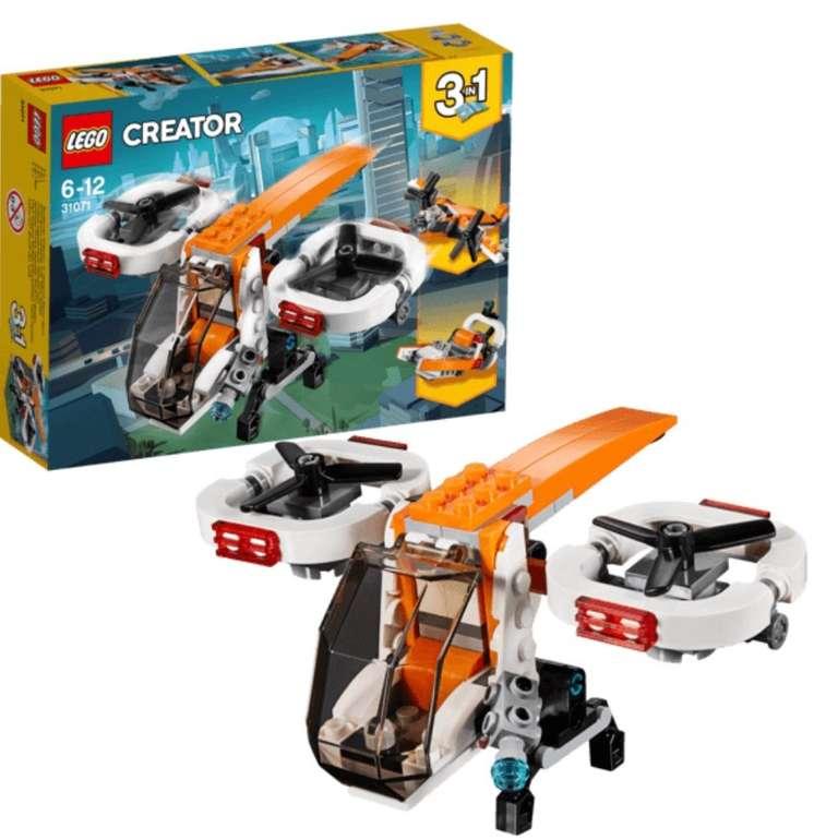 Lego Creator Forschungsdrohne (31071) für 7,99€ inkl. Versand (statt 10€)