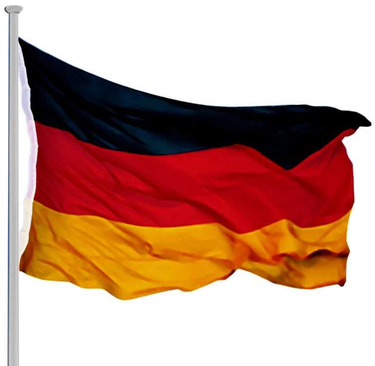 Fahnenmast Alu mit Seilzug (6,50m) + Fahne für 29,95€inkl. Versand (statt 40€)