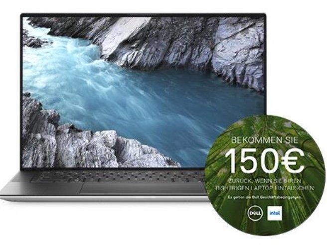 "Dell XPS 15 9500 - 15,6"" FHD IPS Notebook (i7-10750H, GTX 1650Ti, 16/512GB, Win10 Home) für 1574,25€ (statt 1999€)"