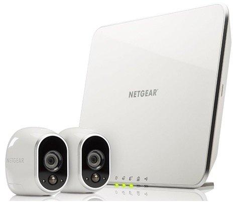 Netgear Arlo VMS3230 Sicherheitssystem mit 2 wetterfesten Kameras für 206,66€
