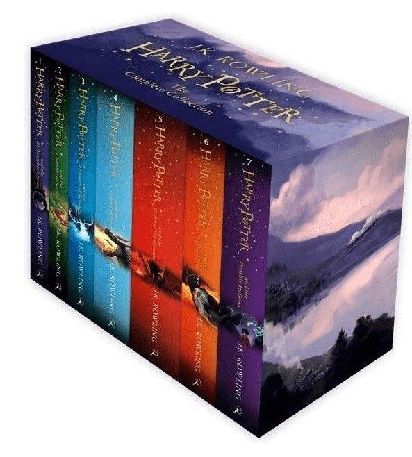 Harry Potter Bücher: The Complete Collection (auf Englisch) für 44,09€ (statt 52€)