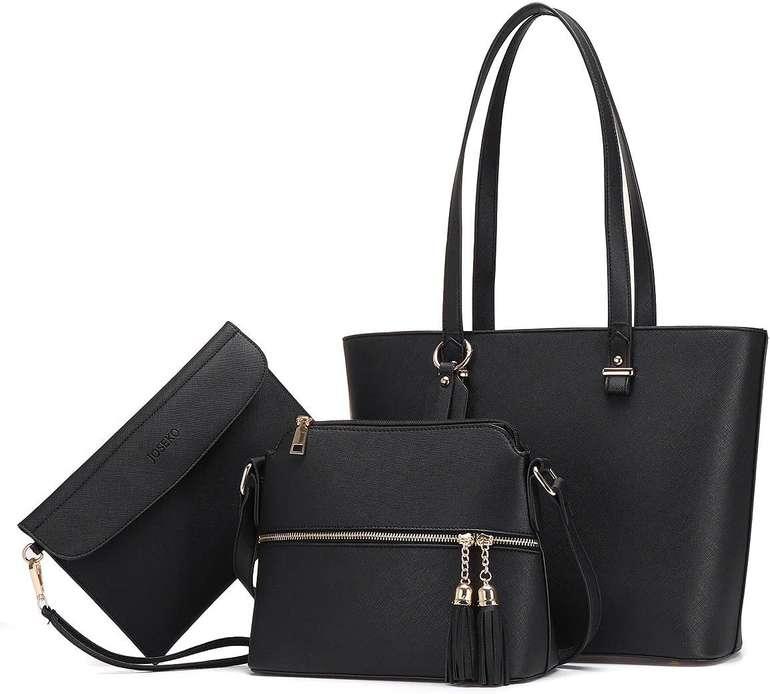 Joseko 3-teiliges Handtaschen Set für 19,99€ inkl. Versand (statt 30€)