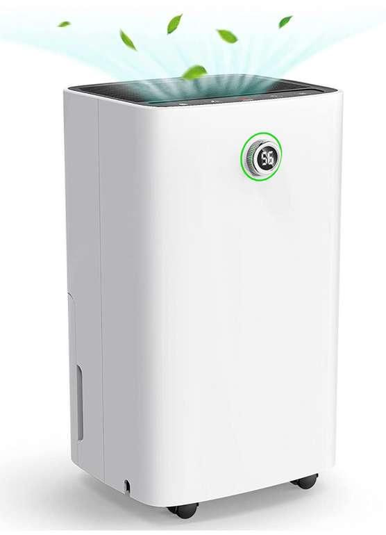 TTTTTTT Luftentfeuchter mit Touch-Display und Dreh-Knopf (12 L) für 89,99€inkl. Versand (statt 110€)