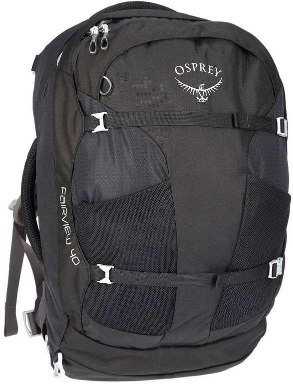 Osprey Fairview 40 Black Edition Damen Reiserucksack für 72,80€ inkl. Versand (statt 112€)