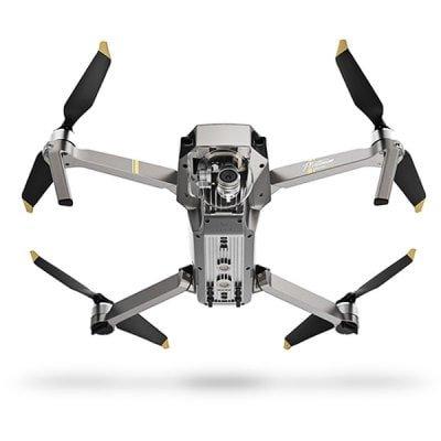 DJI Mavic Pro Platinum Quadrocopter Fly More Combo für 1.027,56€ inkl. Versand