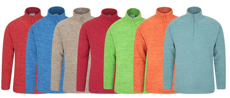 Mountain Warehouse Snowdon Herren Mikrofleece Pullover