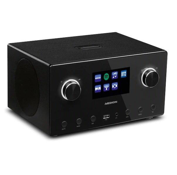 Medion® Life® P85096, WLAN Internet-Radio mit 2.1 Sound-System für 49,95€ inkl. Versand (statt 95€)