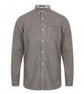 Hot! Tokyo Laundry Newick Herren Gingham Langarm Hemden für je 5,55€ zzgl. VSK!