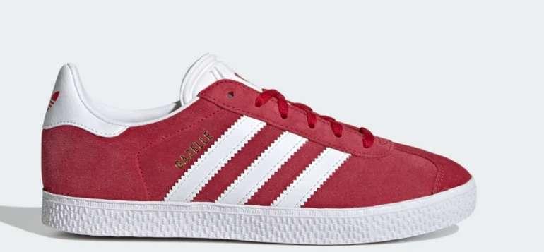 adidas Gazelle Kinder Schuhe in Rot für 26,40€inkl. Versand (statt 50€)