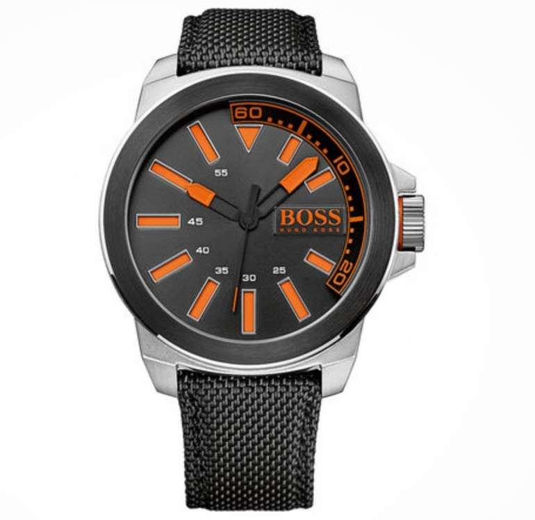 "Hugo Boss Orange Herrenuhr ""New York"" für 72,94€ inkl. Versand"