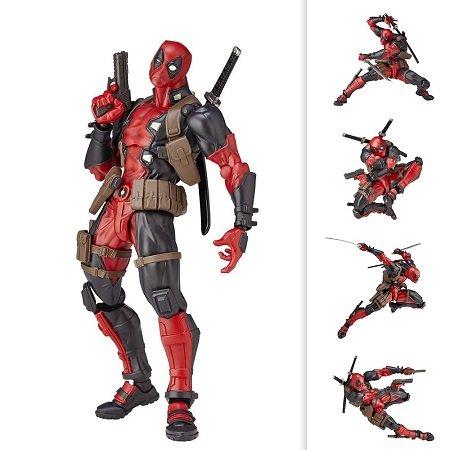 15cm Deadpool Action Figur mit an-/absteckbaren Elementen für 11,86€ inkl. VSK