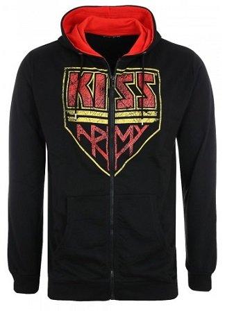 KISS Sweatjacke für Herren & Damen in S - L für 17,99€ (Statt 37€)