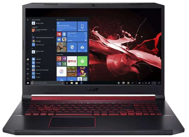 "Acer Nitro 5 (AN517-51-55EM) - 17,3"" Gaming Notebook (i5, 8GB RAM, 512GB SSD, GeForce GTX 1650) für 737,35€"