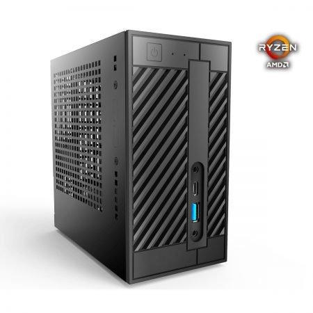 ASRock DeskMini A300 (Mini-PC, Barebone) für 128,89€ inkl. VSK