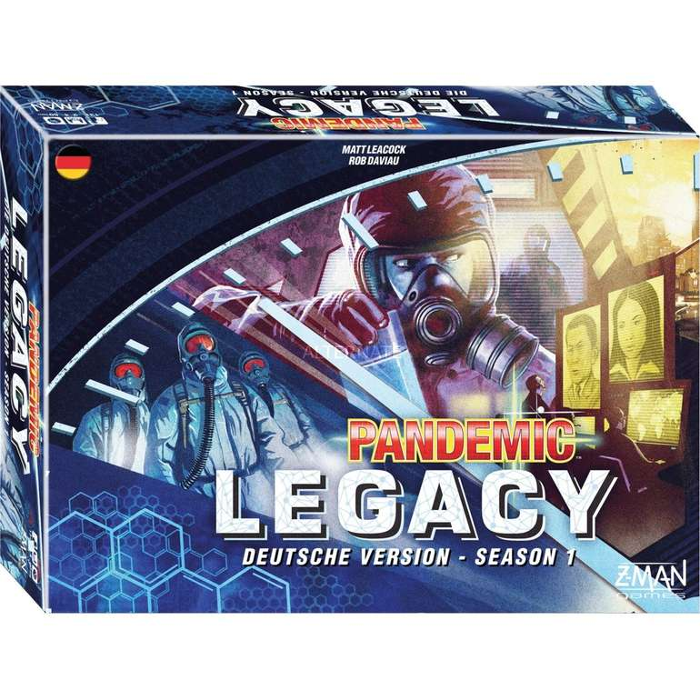 Asmodee Pandemic Legacy Brettspiel (Season 1) für 36,98€ inkl. Versand (statt 43€)